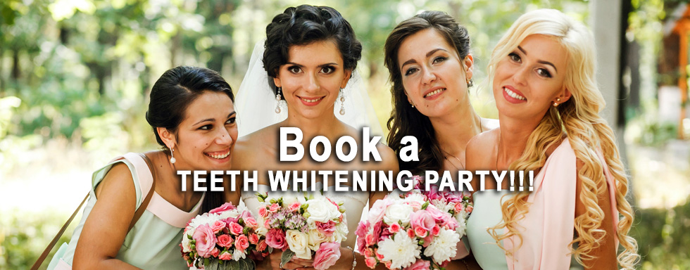 Party of 4 / Wedding Day Whitening Specials Spring 2017 Eldersburg Cosmetic Dentistry